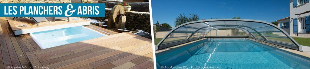 les planchers et abris pour votre piscine Aquilus