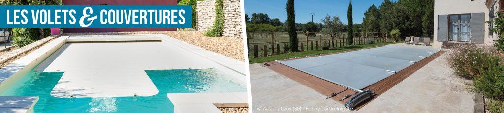 Les volets et couvertures pour votre bassin Aquilus