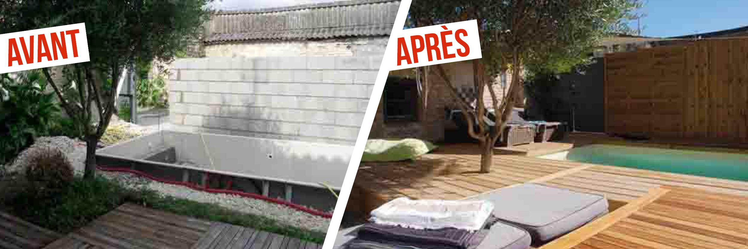 Piscine XS Avant Après - Aquilus La Rochelle