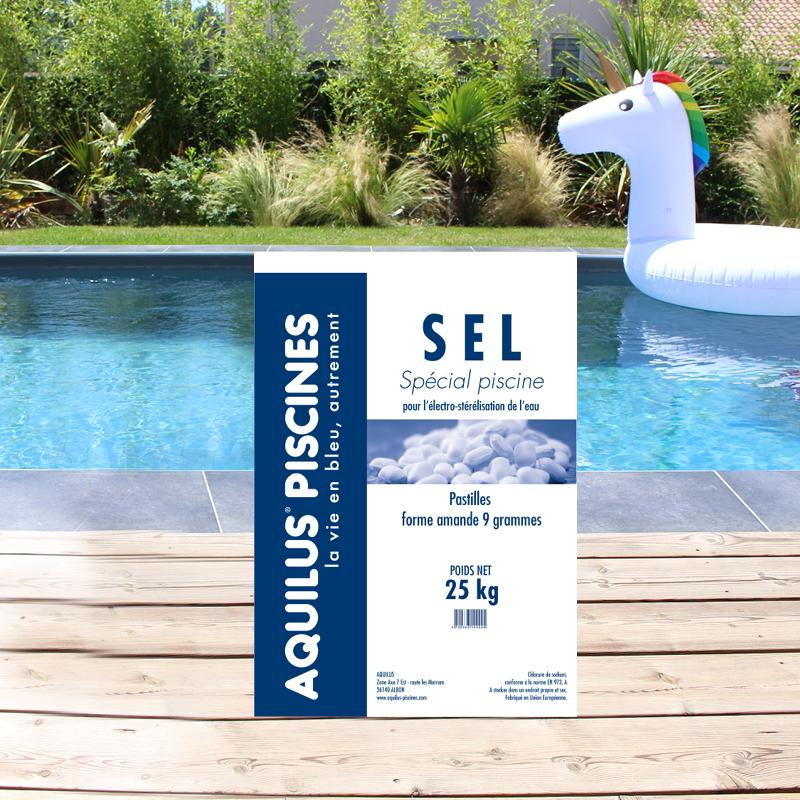 Traitez l'eau de votre piscine Aquilus par électrolyse