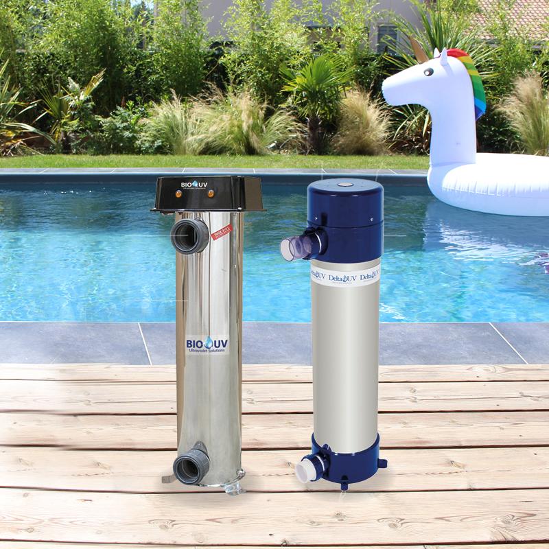 Traitez l'eau de votre piscine Aquilus avec des ultraviolets