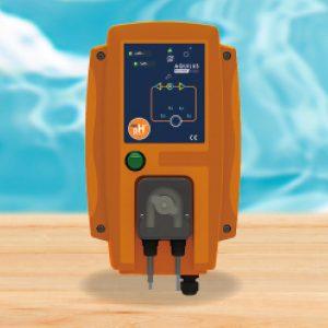 Contrôle et ajuste le taux de pH dans l'eau de votre piscine. Accessoire disponible dans votre magasin Aquilus