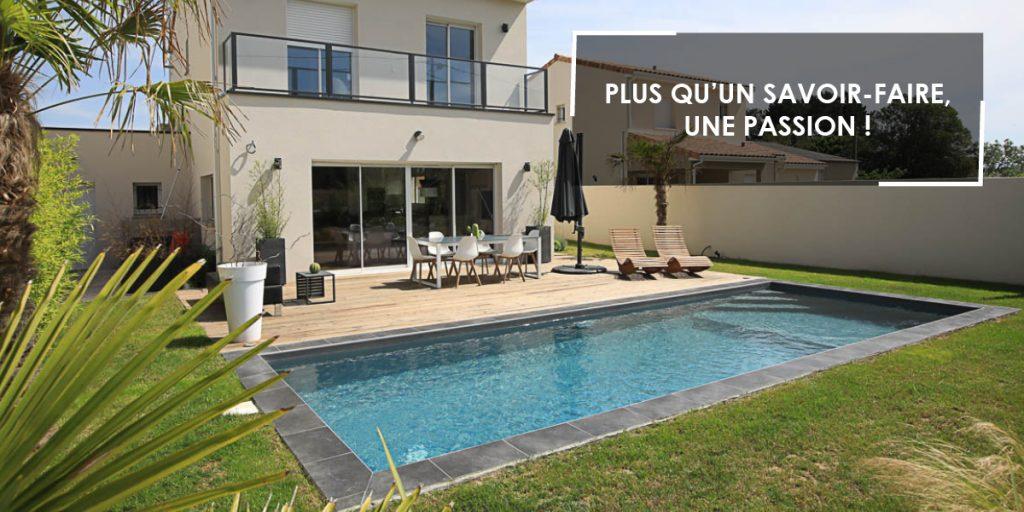 Aquilus Piscines La Rochelle vous accompagne dans la réalisation de votre projet de piscine de A à Z