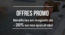 Offres promo sur nos spas en magasin à Aquilus La Rochelle